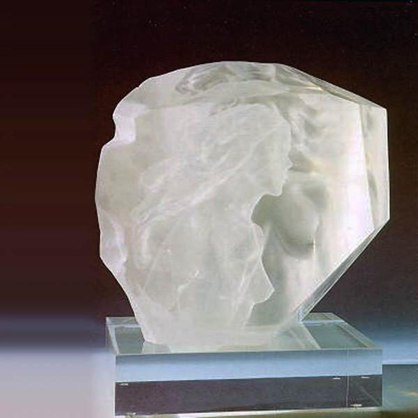 """Memoir"" Acrylic Sculpture by Frederick Hart"