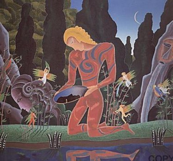 """Narcissus"" Serigraph by Thomas McKnight"