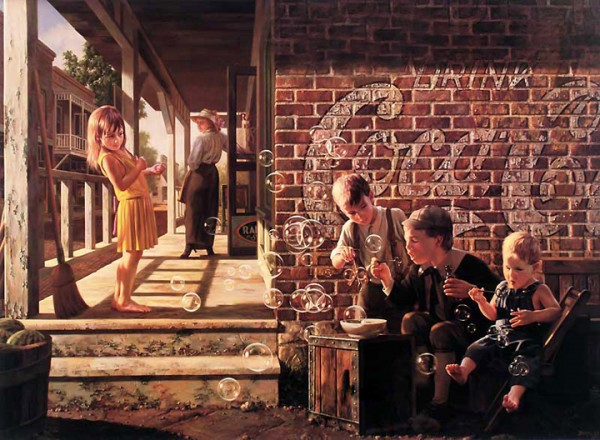 """Fascination"" Limited Edition Giclee on Canvas by Bob Byerley"