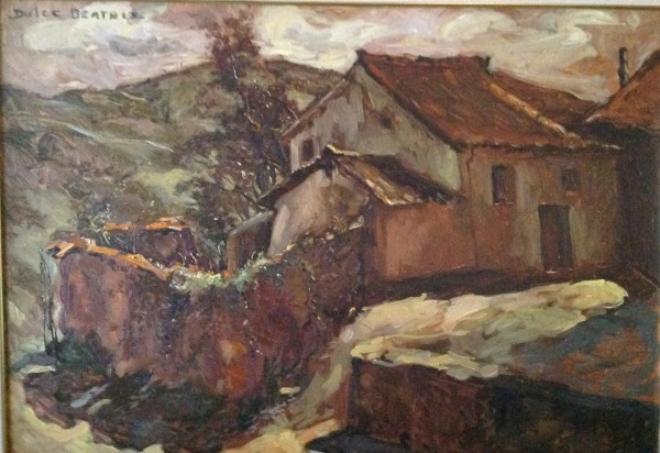 """Casa Las Pucherillas"" Original Oil on Canvas by Dulce Beatriz"