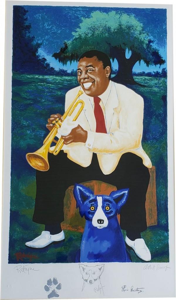 """New Orleans Jazz & Heritage Festival 1995"" Poster Artist Proof"