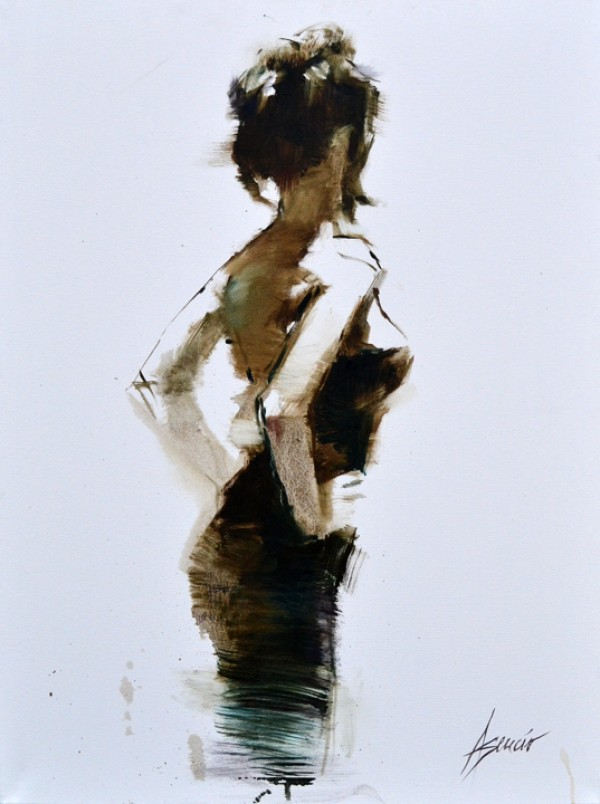 """""""Classic Beauty"""" Hand Embellished Giclee on Canvas by Henry Asencio"""