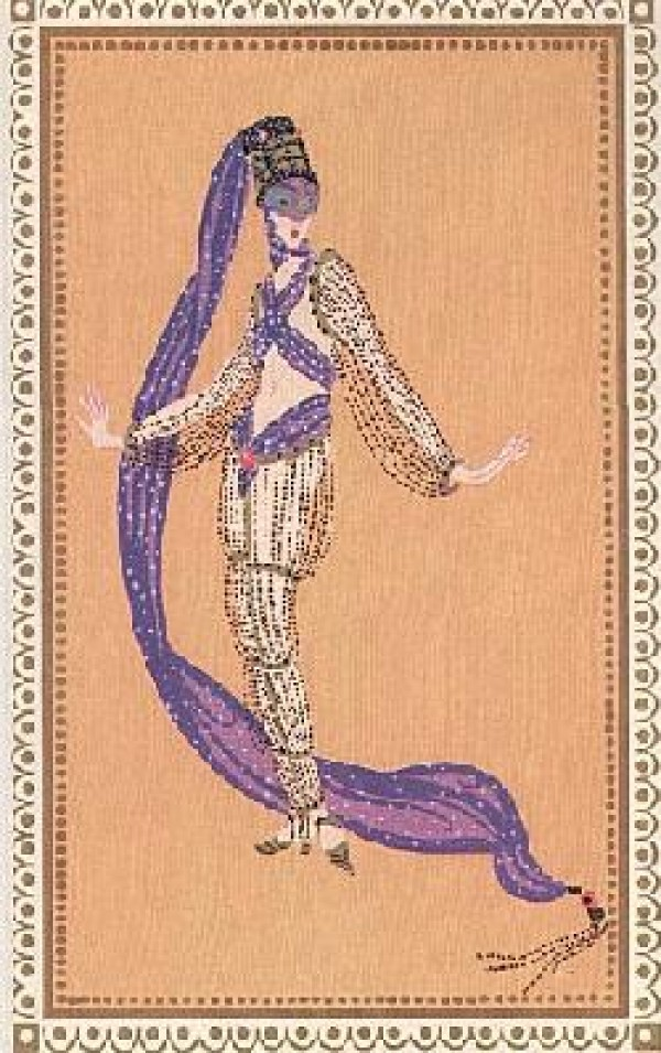 """A Thousand and Second Night"" Lithograph by Erte Wanted by Diva Art Group"