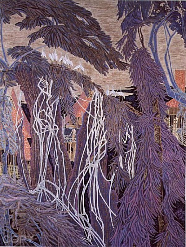 """""""Mysterious Xishuangbanna"""" Serigraph on Paper by Shao Kuang Ting"""
