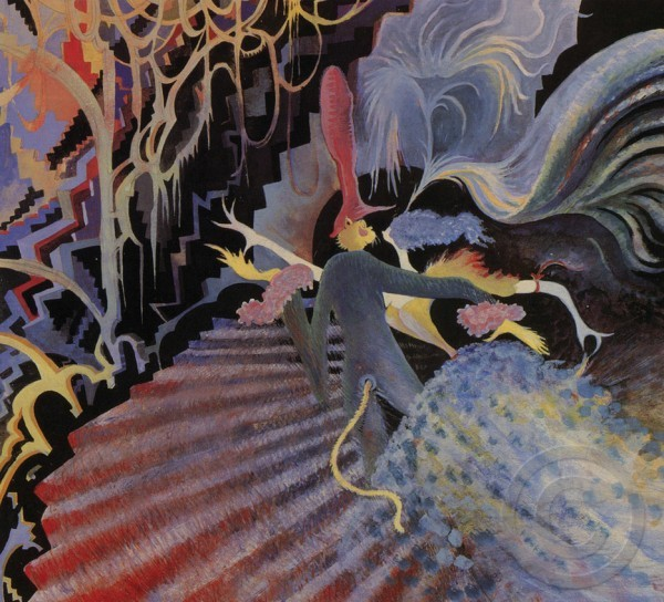 """""""Cat Carnival in West Venice"""" Serigraph on Archival Canvas by Dr. Seuss"""