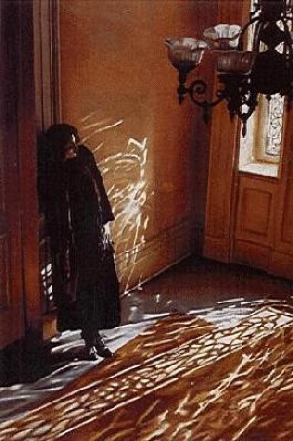 """In The Foyer"" Serigraph by Adrian Deckbar"