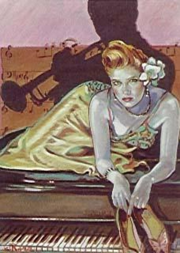 """""""Just For You"""" Serigraph by Colleen Ross"""