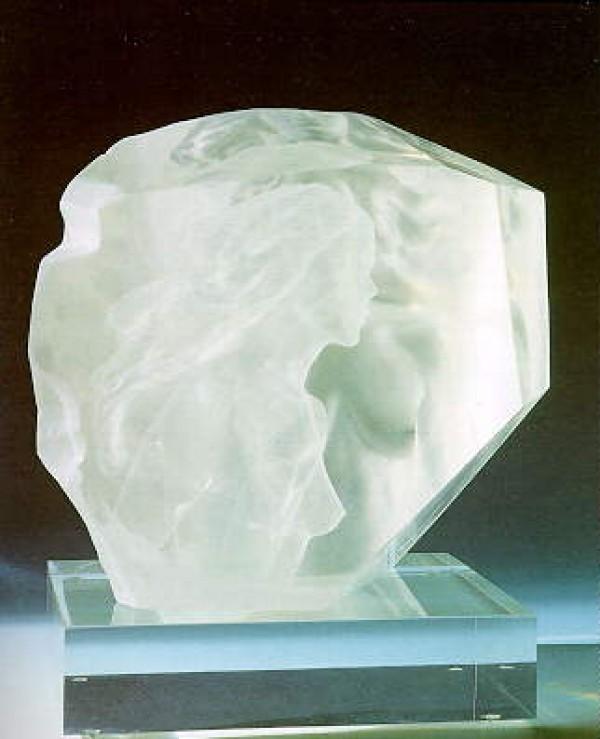 """Memoire"" Acrylic Sculpture by Frederick Hart"