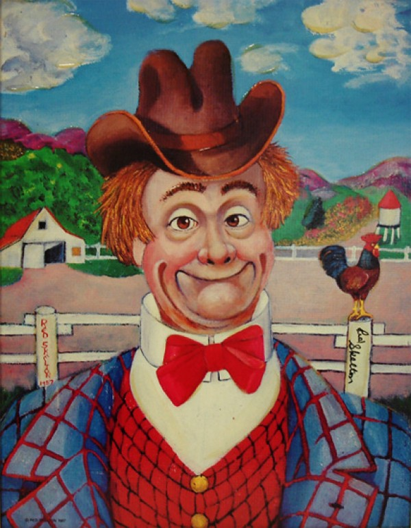 """""""Sunday Afternoon"""" Serigraph by Red Skelton"""