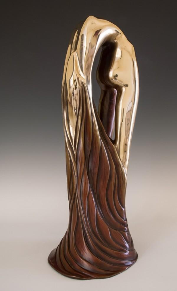 """""""Serene"""" Bronze Sculpture by Tom & Bob Bennett"""