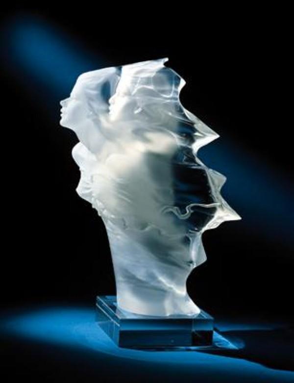 """Futurity"" Acrylic Sculpture by Michael Wilkinson"