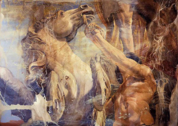 """""""Equestris"""" Giclee on Canvas by Tomasz Rut"""