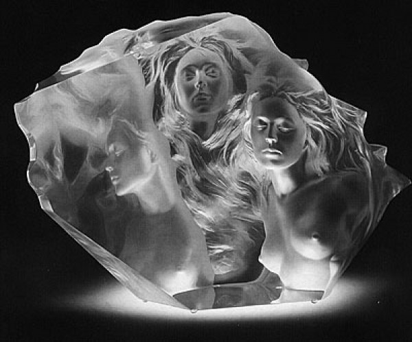 """""""Counterpoint"""" Acrylic Sculpture by Frederick Hart"""