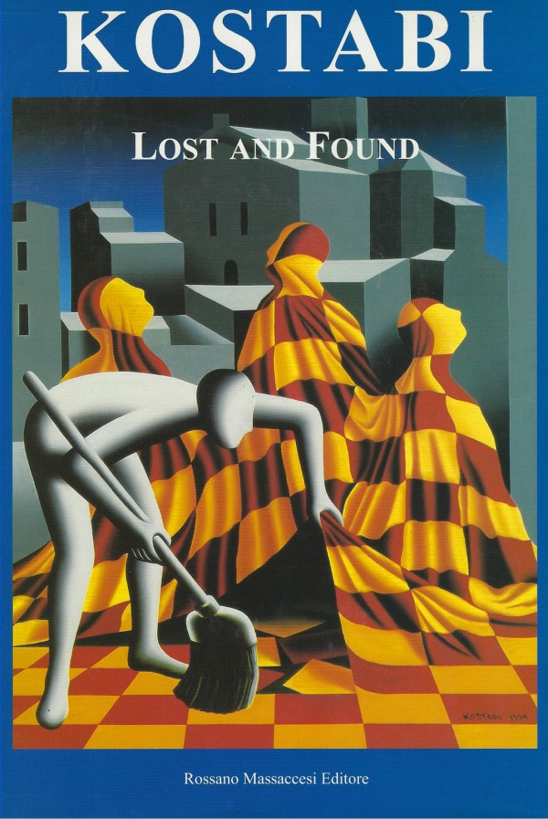 """""""Lost and Found"""" book by Mark Kostabi"""
