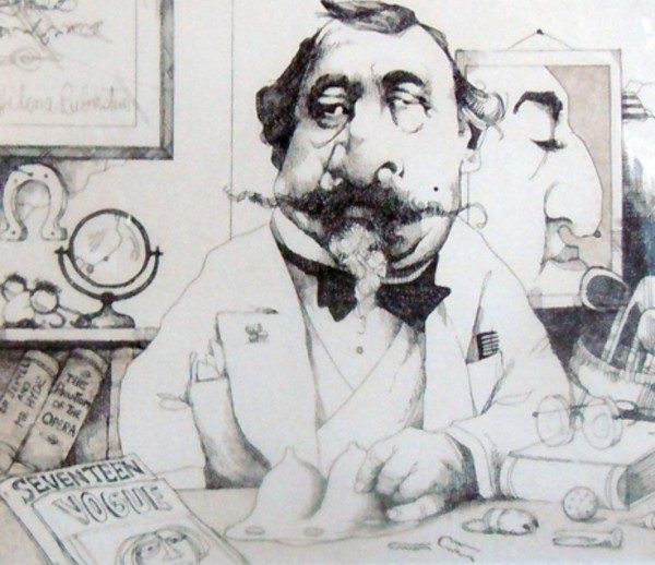 """""""Plastic Surgeon"""" Limited Edition Etching by Charles Bragg"""