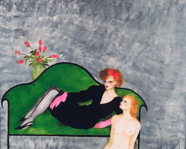 """One More Night"" Original Watercolor by Joanna Zjawinska"
