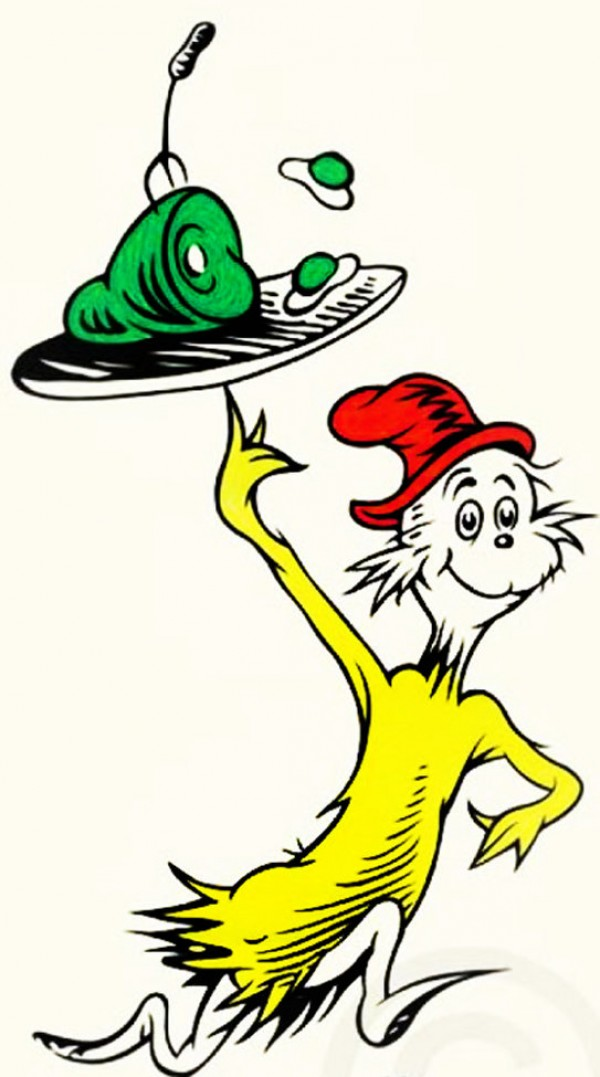 """""""Green Eggs & Ham, 50th Anniversary Print"""" Serigraph on Paper by Dr. Seuss"""