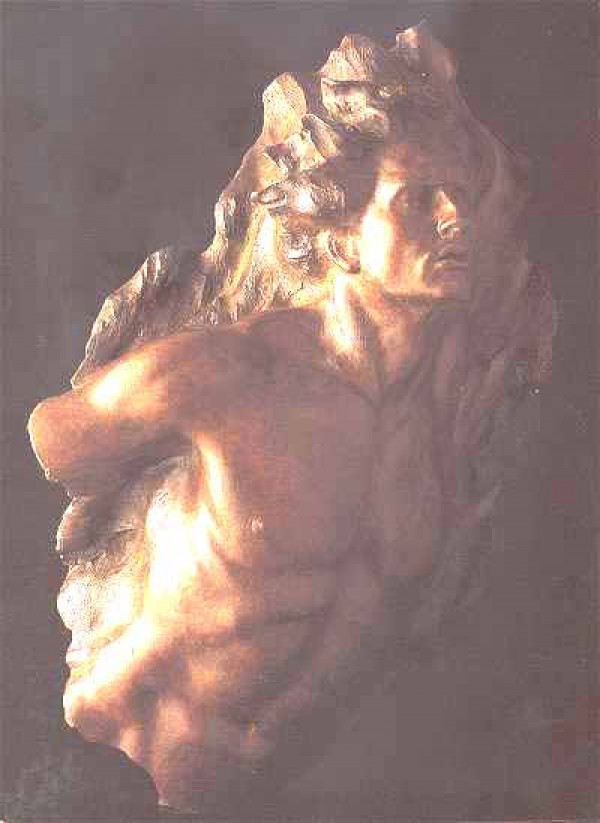 Ex Nihilo, Fragment No. 5 Bronze Sculpture by Frederick Hart