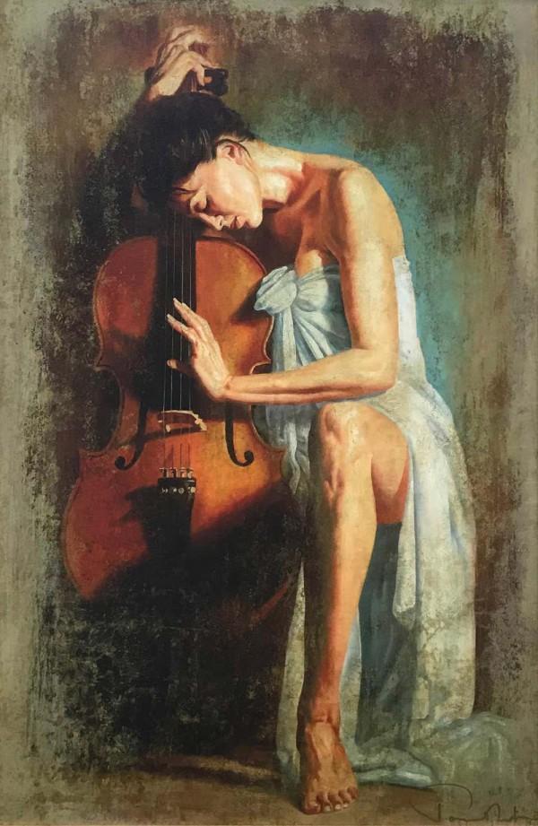 Tomasz Rut Cadenza limited edition Giclee on Canvas