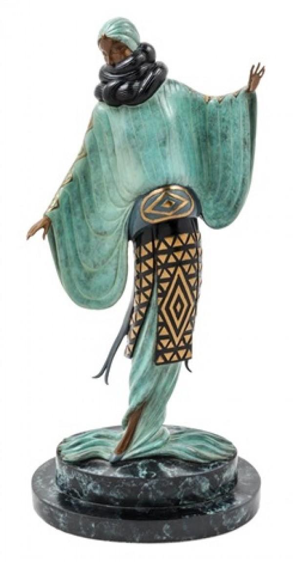 """""""An Evening in 1921"""" Bronze Sculpture by Erte"""