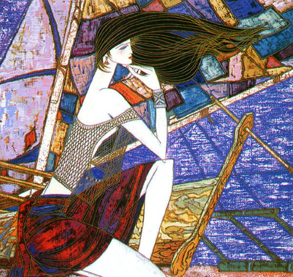"""""""Distant Dreams"""" Serigraph by Ting Shao Kuang"""