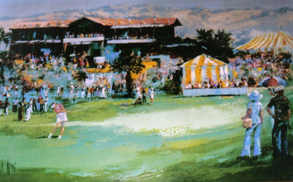 """Dinah Shore Classic"" Original Painting by Mark King"