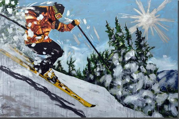 """""""Aspen"""" Limited Edition Giclee on Paper, Canvas or Aluminum by Michael Bryan"""