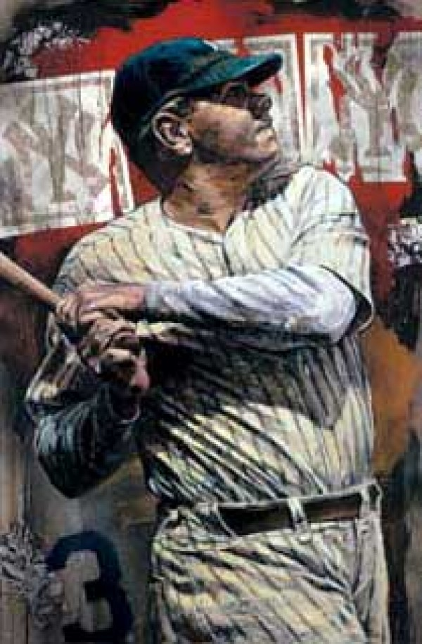"""""""Bambino - Babe Ruth"""" Giclee on Canvas by Steve Holland Wanted"""
