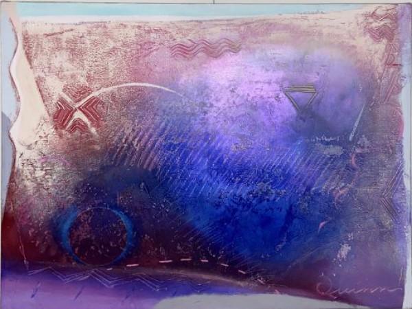 """Songs of Paradise"" Original Acrylic on Canvas by Richard Quinn"