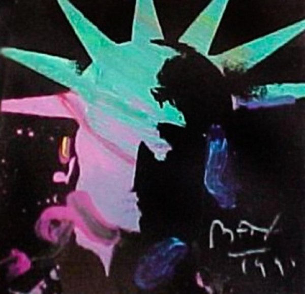 """""""Liberty Head #3"""" Original Acrylic on Canvas by Peter Max"""