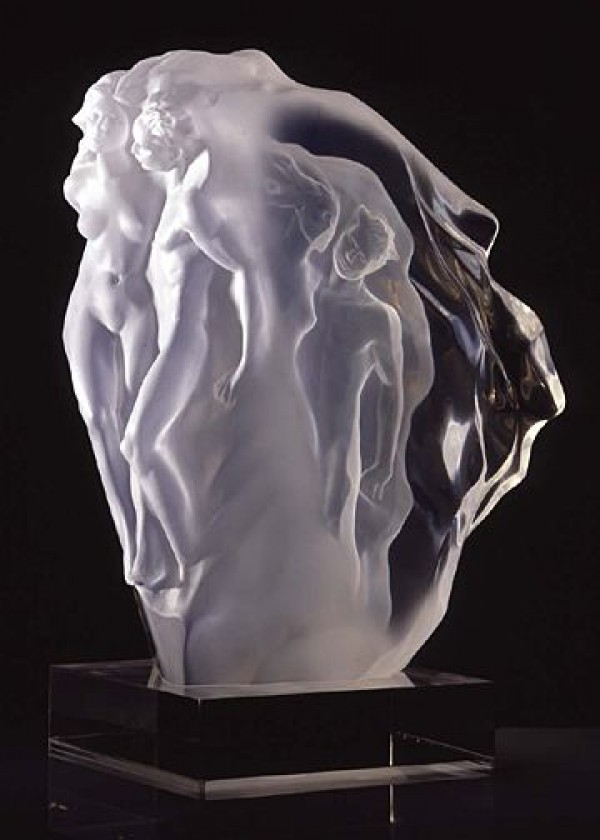 """""""Breath of LIfe"""" Acrylic scultpure by Frederick Hart"""
