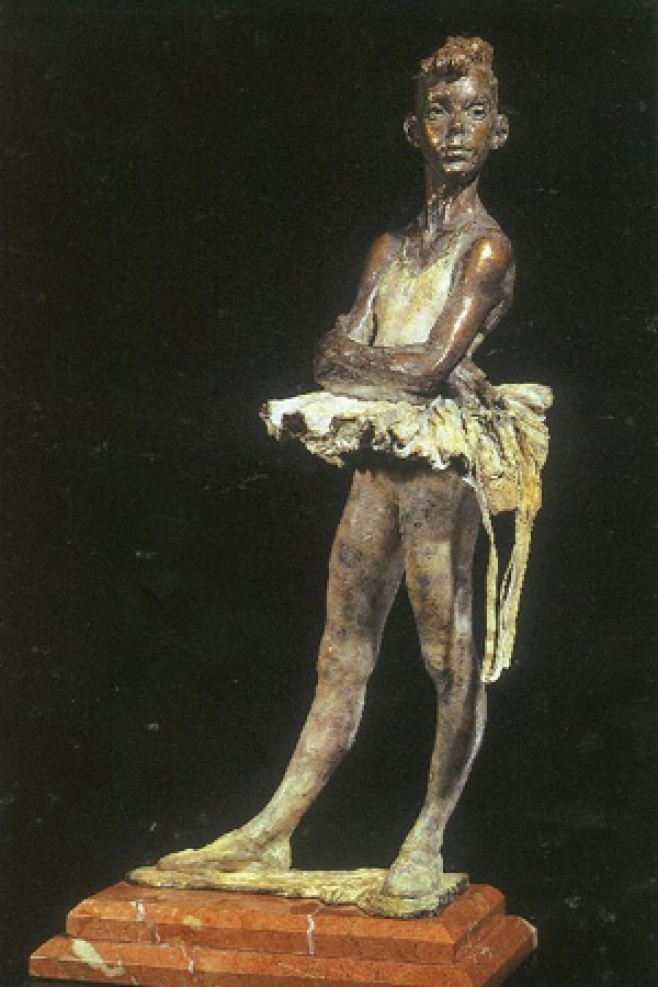 """First Ribbons"" Bronze Sculpture by Richard MacDonald"
